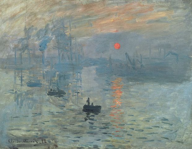 Monet, Soleil levant