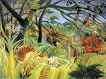 Tiegre en la jungla