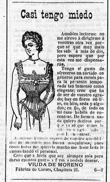 3. 1899. Anuncio Casi tengo miedo