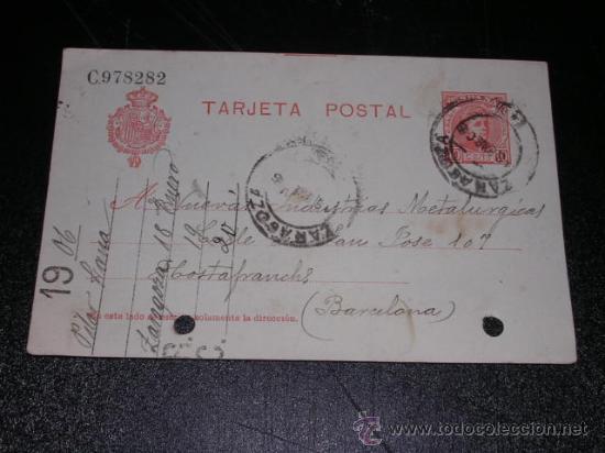 8. Tarjeta postal
