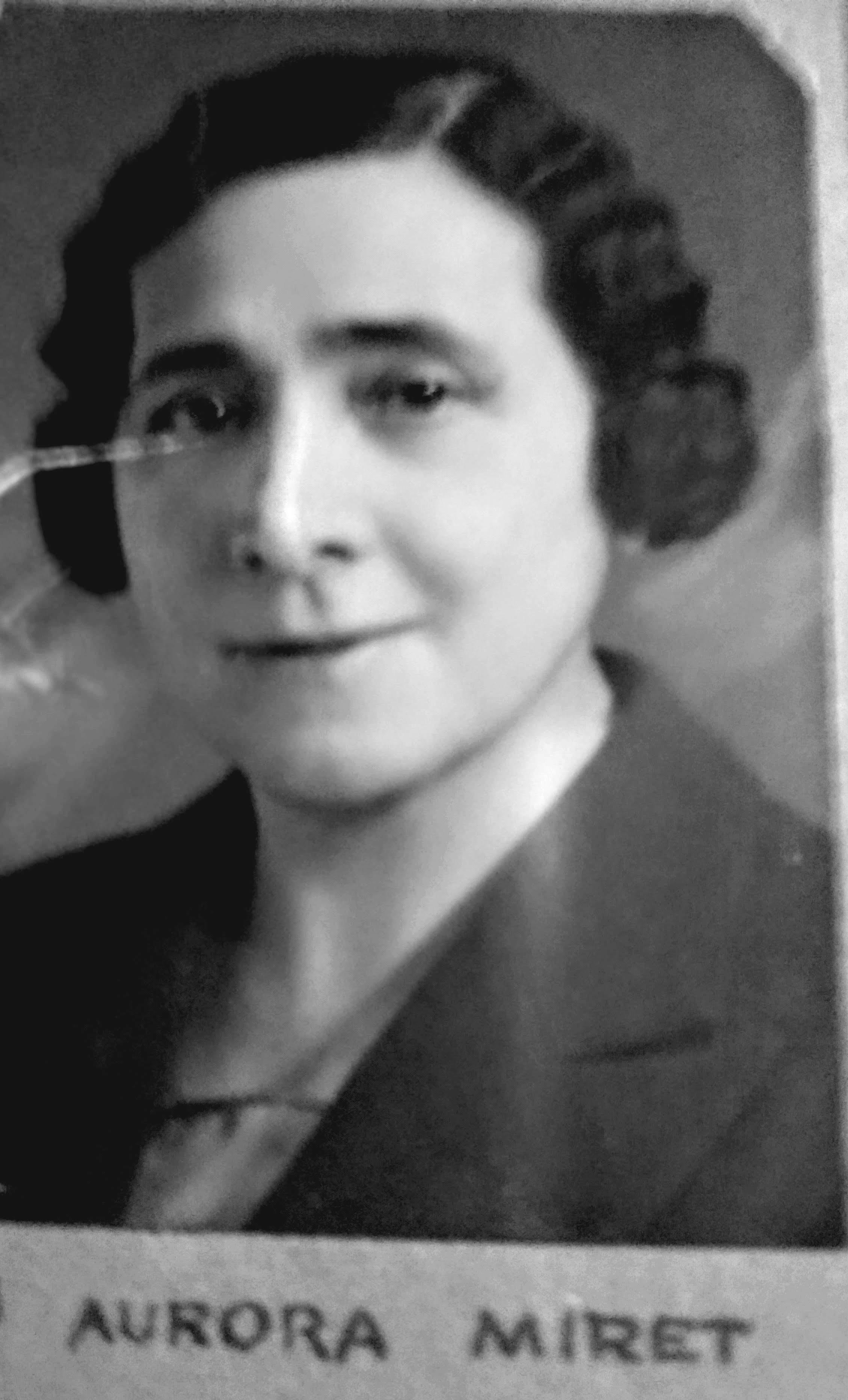 Miret, Aurora, 1932