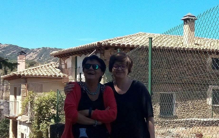20170812. Biel. Laura y Carmen