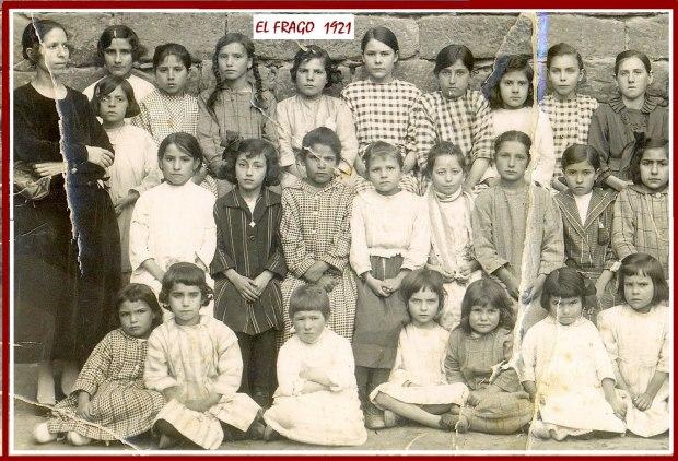 1921-Escuela de El Frago
