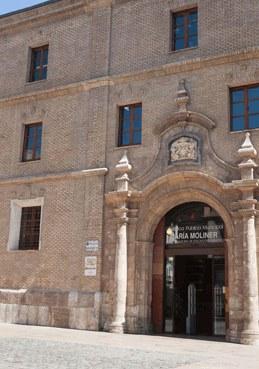 Blblioteca Pública Municpal en la plaza de San Agustín