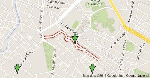 Mapa de la calle