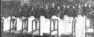 Banquete Alcaldesas. 2