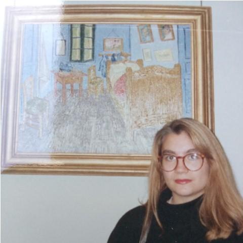 Museo Van Gogh, 1993. Recortada