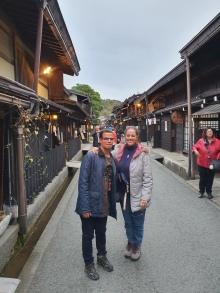 Calle Kami-Sannomachi, en Takayama