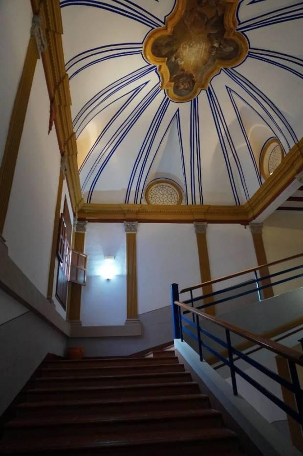 Escaleras de casa de don Juan