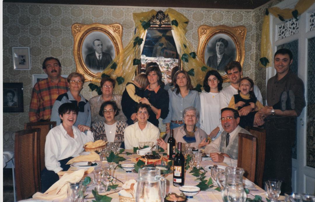 Jubilación de Carmita en Biel