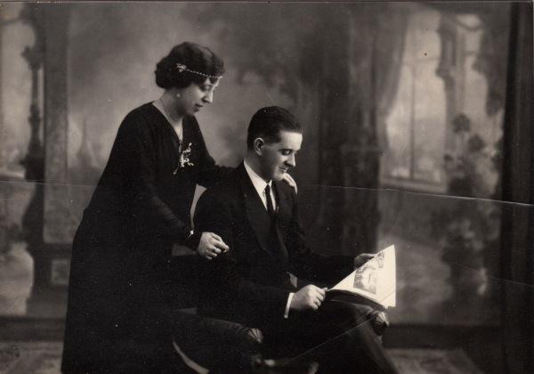 11, 1929. Boda de Juan e Isabel