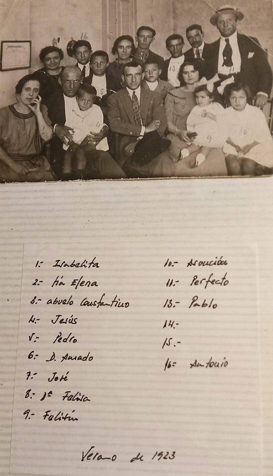 1923, Constantino y Perfecto