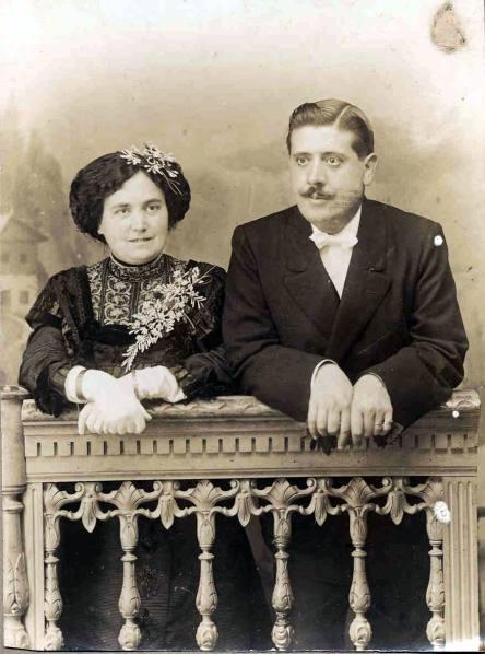 24. 1910 Marino y Delfina 1910 Boda