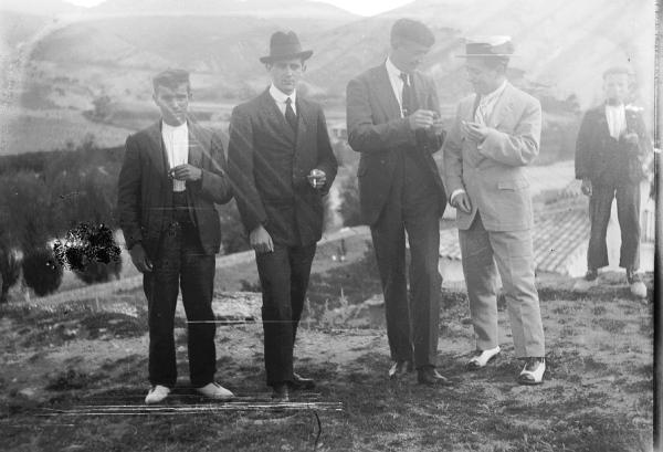31. 1925 Juan y Francisco Lanzarote. Victorino Mallén y otro.